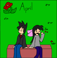 Calender Project: April by flygonfan