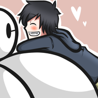 HIRO AND BAYMAX by chibi-dark-kitsune