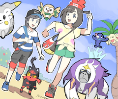 Pokemon Sun and Moon: Alola