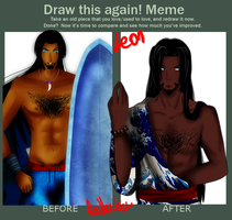 draw this again Leon by Hishousophy