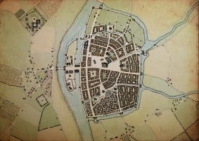 City of Maisandras - coloured by Blaidd--Drwg