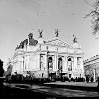 The Lviv Theatre Of Opera by Zhen-Yang