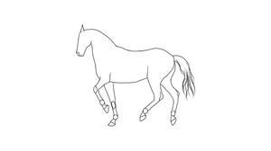 Piaffe - Animation Preview by RvS-RiverineStables