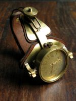 Archimedes steampunk watch by DasKabinettWatches
