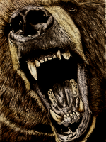 Grizzly by monkeyswithbrushes