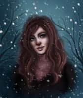 First snow by VanilleNoire