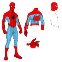 The Practicle Spider-Man Redesign by Needham-Comics