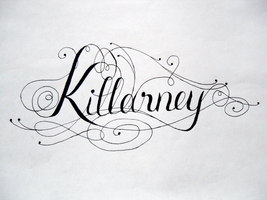 Killarney Calligraphy by MSzilvi95