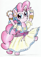 Pinkie Pie: The Gypsy Bard by Matsuban