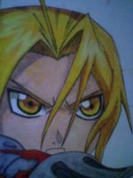 Edward Elric by KnottyMaGe