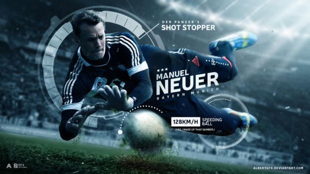 Manuel Neuer 2016/17 Wallpaper by AlbertGFX