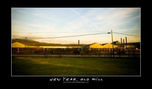 New Year, Old Mill by jimloomis
