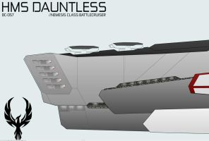 HMS Dauntless WIP 2 by daTSchikinhed