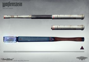 Wolfenstein: The New Order - Batons by torvenius