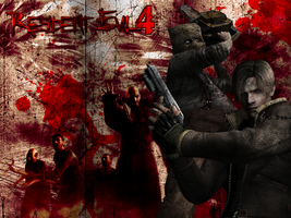 Resident Evil 4 Wallpaper by BigPeteNelly
