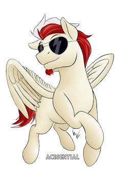 Lucky Knight w/ Sunglasses by mane6swag