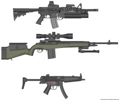 My DayZ weapons by Jcatz338