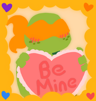 Be Mikey's Valentine by AnimeWaterFall