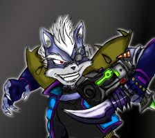 wolf o donnell pistol color by alucard2