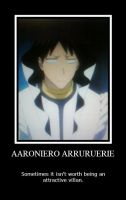 Aaroniero Arruruerie Poster by Club-Bleach