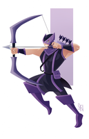 Hawkeye Quickie by Tigerhawk01