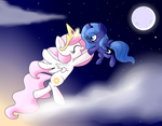 Day and Night (Updated!) - MLP by GypsyCuddles