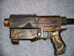 Steampuk Nerfgun paint Job by Talfox