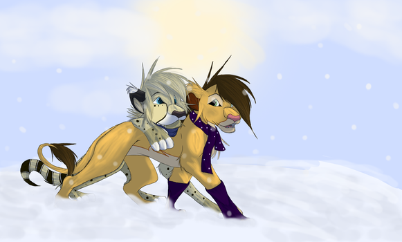 Christmas Love by lionkinggirl2009