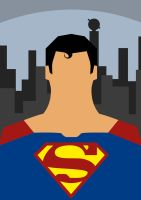 Superman Poster by sinhar97