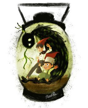 Over The Garden Wall fan art by marquerbun