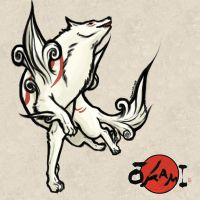 Amaterasu : Okami Entry 1 by ryuoku