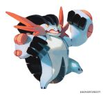 Mega Swampert by bluekomadori