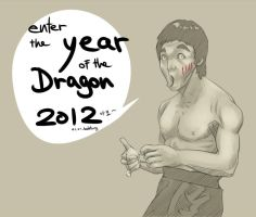 Enter the year of the Dragon by babtong
