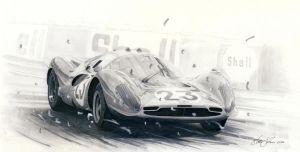 Ferrari 412p by klem