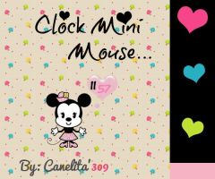 Clock Mini Mouse by SriitaDeWatt