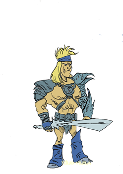 Cartoony He-Man by Tulio-Vilela