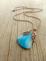 Agate pendant by UrsulaJewelry