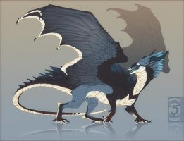 bluejay dragon by Shinerai