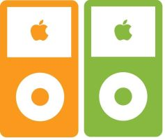 iPod vector by xalexas
