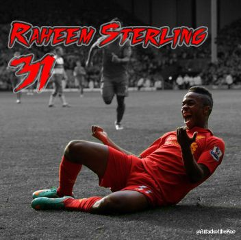 Raheem Sterling by AttackoftheKop