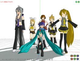 MikuMikuDance by thewolfalchemist