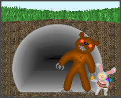 pixel bear and bunny - contest entry by Minakie