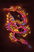 Fiery Serpent by XxMurderdollxX