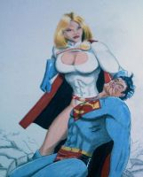 POWERGIRL WON? by MajorO