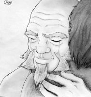 Iroh's love for Zuko by SiaraFireSpark