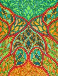 Stained Glass 20 by KyleWilcoxVisualArt
