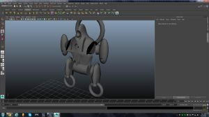 WIP Robot Model by Exeterman79