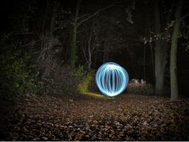 orb in the woods by XSini