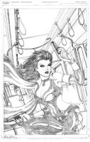 Dark X-girl Cover - Pencils by Elisa-Feliz