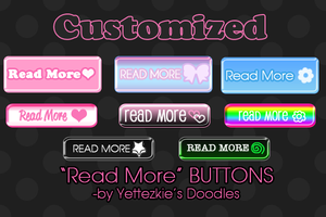 Read More Buttons by yettezkiedoodle